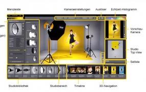 S066.室内摄影棚3D布光模拟Set A Light 3D Studio汉化版WIN
