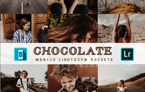 LR137.旅拍人像巧克力色主题胶片Lightroom预设+移动手机版lr预设 Chocolate Mobile Lightroom Presets